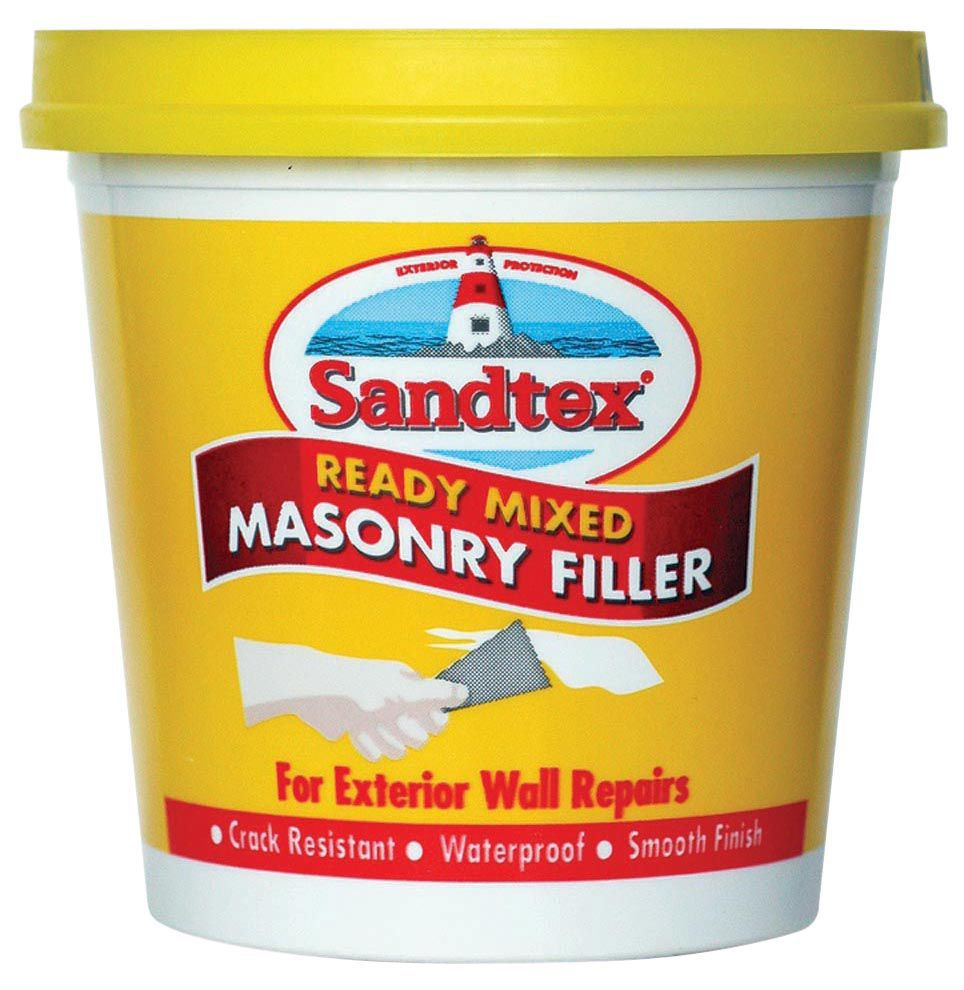 Sandtex Masonry Filler 500g Departments Diy At B Amp Q