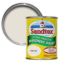 Sandtex Chalk Hill Brown Smooth Masonry Paint 150ml