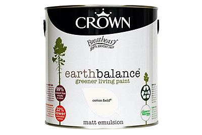 Crown Breatheasy® Earth Balance Cotton Field Matt Emulsion Paint 2.5L