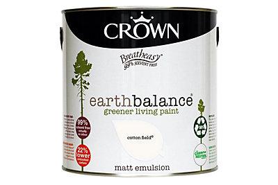 Crown Breatheasy® Earth Balance Cotton Field Matt Emulsion Paint 2.5L