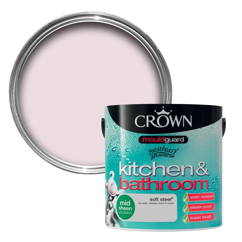 Crown Kitchen Amp Bathroom Soft Sand Mid Sheen Emulsion