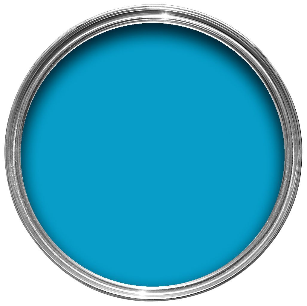 Sandtex Exterior Bahama Blue Gloss Wood & Metal Paint 750ml