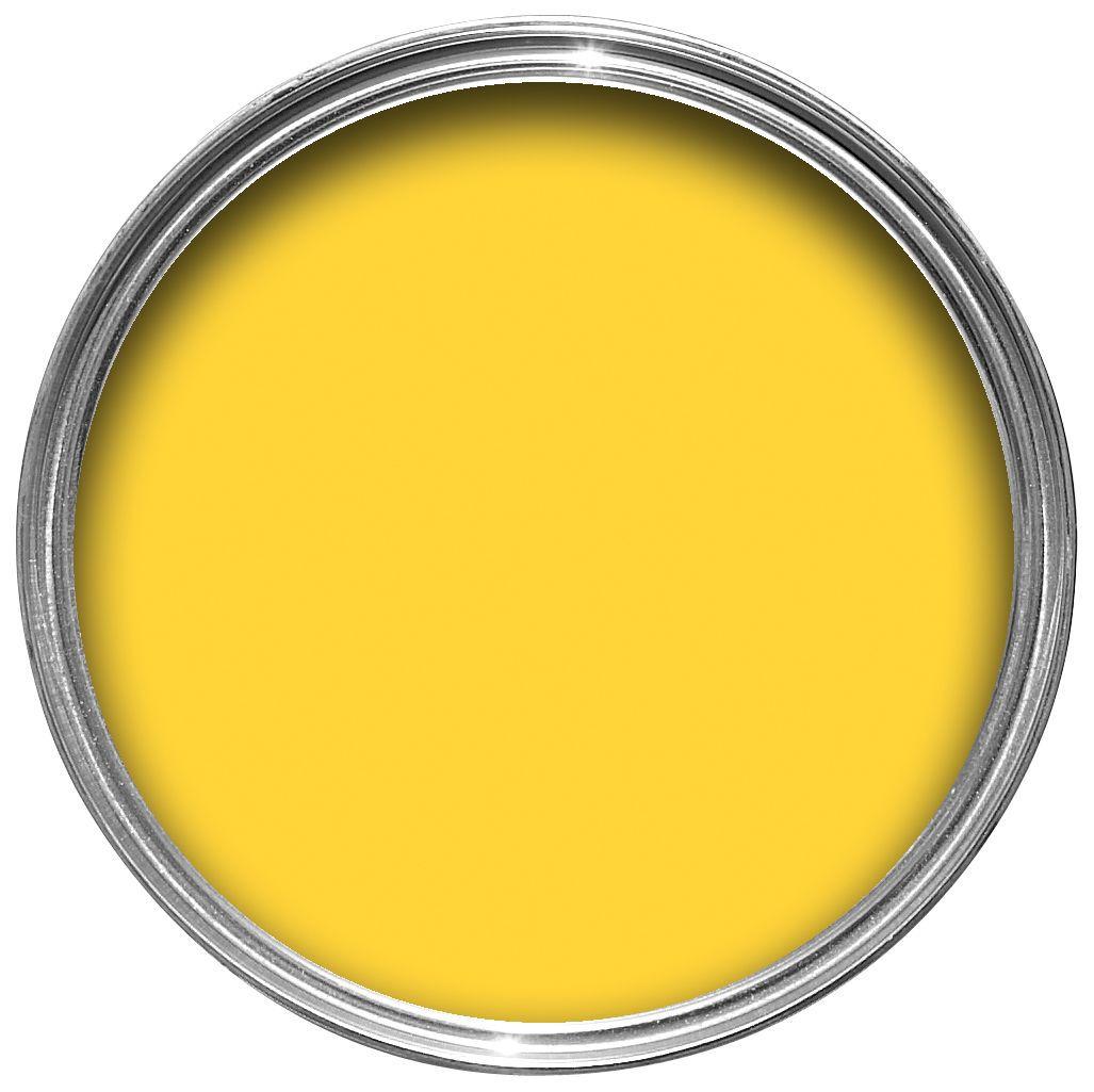 sandtex exterior hot mustard gloss wood metal paint 750ml. Black Bedroom Furniture Sets. Home Design Ideas