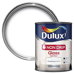 Dulux Internal Pure Brilliant White Gloss Paint 750ml