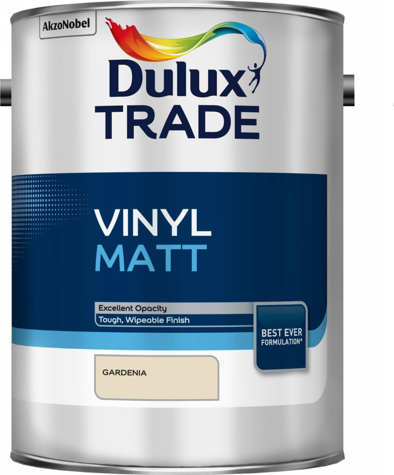 Dulux Trade Gardenia Matt Vinyl Paint 5l
