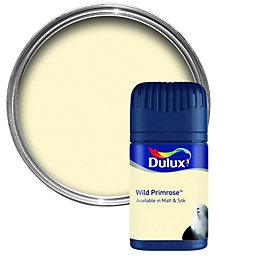 Dulux Wild Primrose Matt Emulsion Paint 50ml Tester