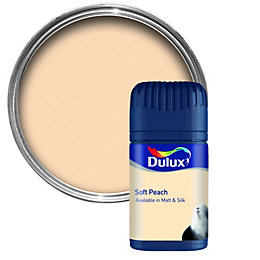 Dulux Peach Matt Emulsion Paint 50ml Tester Pot