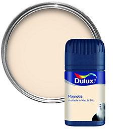 Dulux Magnolia Matt Emulsion Paint 50ml Tester Pot