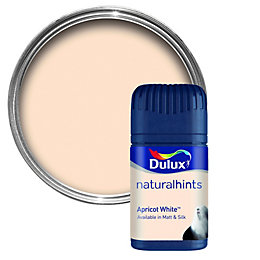 Dulux Apricot White Matt Emulsion Paint 50ml Tester