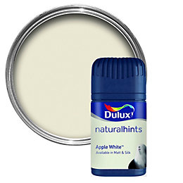 Dulux Apple White Matt Emulsion Paint 50ml Tester
