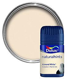Dulux Almond White Matt Emulsion Paint 50ml Tester