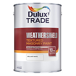 Dulux Trade Weathershield Pure Brilliant White Textured Masonry