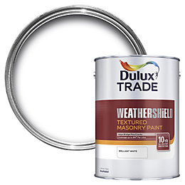 Dulux Trade Weathershield Pure Brilliant White Textured Matt