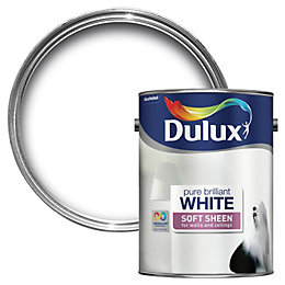 Dulux Pure Brilliant White Soft Sheen Emulsion Paint