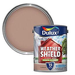 Dulux Weathershield Sandstone Beige Matt Masonry Paint 5L