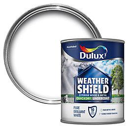 Dulux Weathershield White Undercoat 750ml