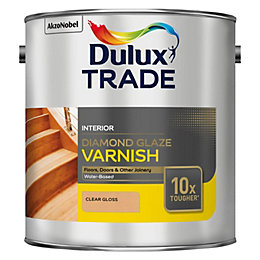 Dulux Trade Diamond Internal Clear Gloss Wood Varnish
