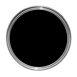 Dulux Non Drip Internal & External Black Gloss