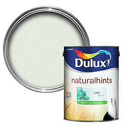 Dulux Jade White Silk Emulsion Paint 5L