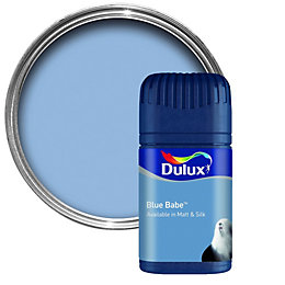 Dulux Blue Babe Matt Emulsion Paint 50ml Tester