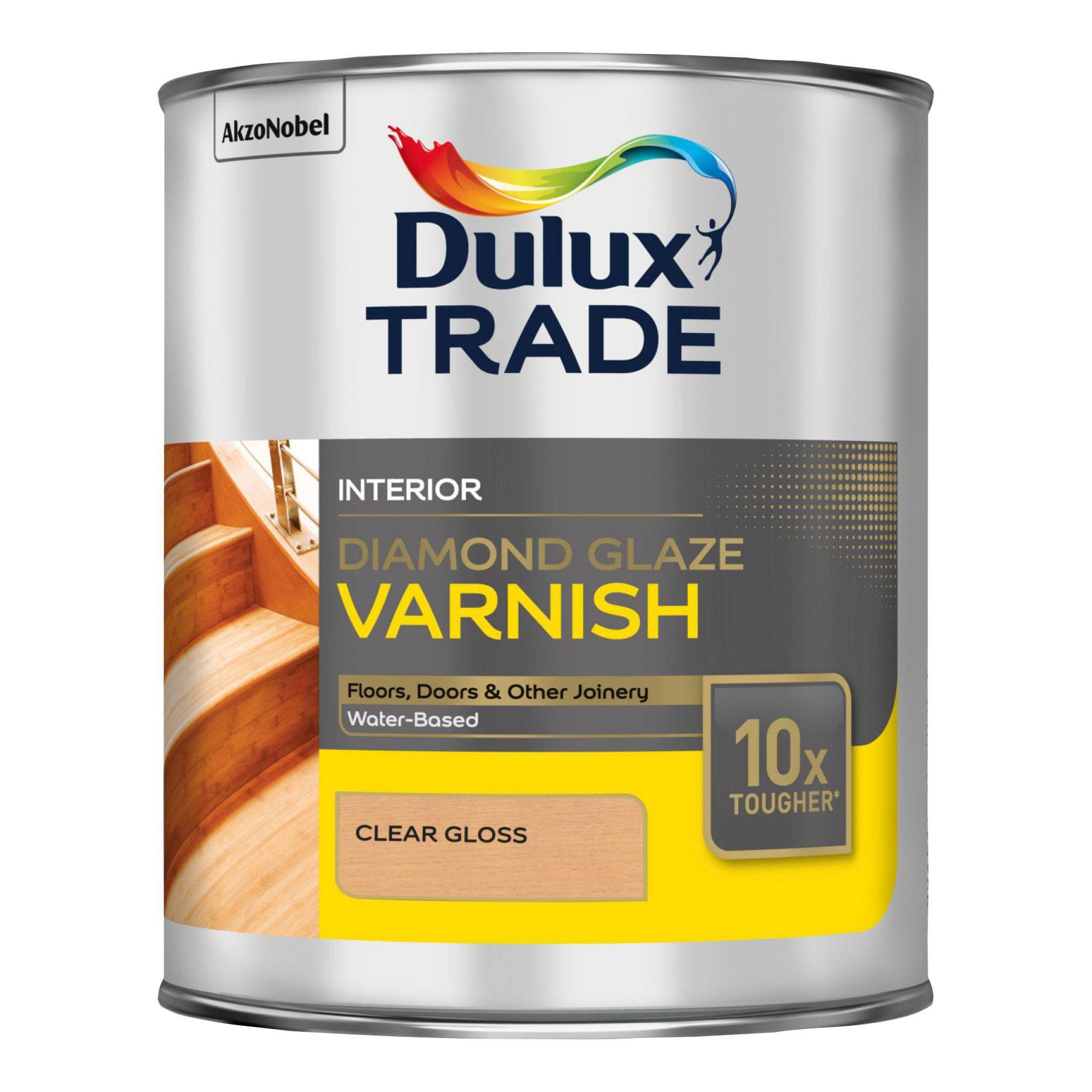 Dulux Trade Clear Gloss Varnish 1000ml