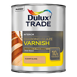Dulux Trade Diamond Internal Clear Gloss Varnish 1L