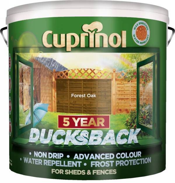 Cuprinol 5 Year Ducksback Forest Oak Shed & Fence Treatment 9l