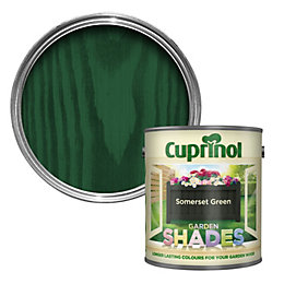 Cuprinol Garden Somerset Green Matt Wood Paint 1L