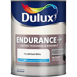Dulux Endurance Pure Brilliant White Matt Emulsion Paint