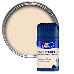 Dulux Endurance Natural Wicker Matt Emulsion Paint 50ml