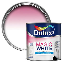 Dulux Magic Pure Brilliant White Matt Emulsion Paint