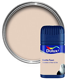 Dulux Gentle Fawn Matt Emulsion Paint 50ml Tester