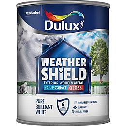 Dulux Trade Weathershield External Pure Brilliant White Gloss