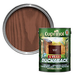 Cuprinol 5 Year Ducksback Autumn Brown Shed &
