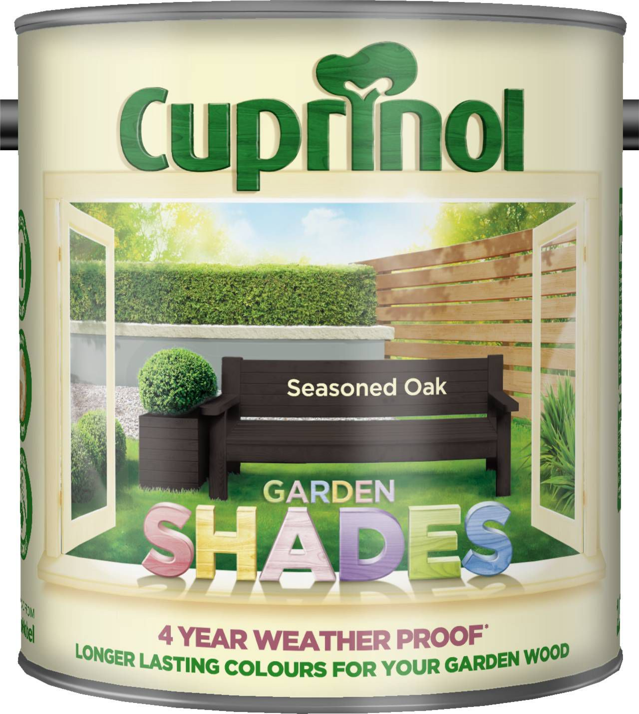 Cuprinol Garden Shades Seasoned Oak Matt Wood Paint 2.5l