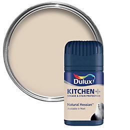 Dulux Kitchen Natural Hessian Matt Emulsion Paint 50ml