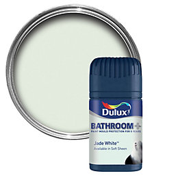 White Bathroom Paint Dulux dulux bathroom pure brilliant white soft sheen emulsion paint 2.5l