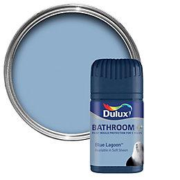 Dulux Bathroom Blue Lagoon Soft Sheen Emulsion Paint