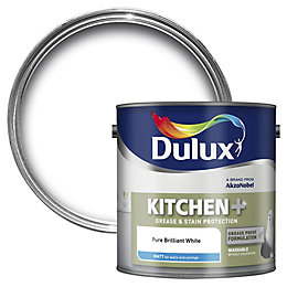 Dulux Kitchen Pure Brilliant White Matt Emulsion Paint