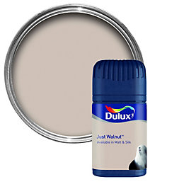 Dulux Neutrals Just Walnut Matt Emulsion Paint 50ml