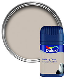 Dulux Neutrals Perfectly Taupe Matt Emulsion Paint 50ml