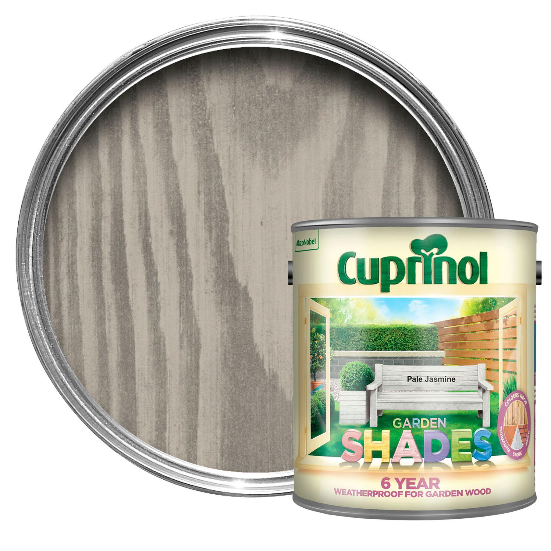 Cuprinol Garden Shades Pale Jasmine Matt Wood Paint 2.5l