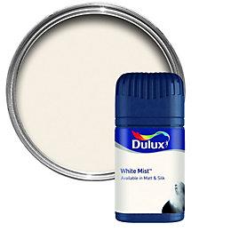 Dulux White Mist Matt Emulsion Paint 50ml Tester