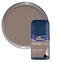 Dulux Intense Truffle Matt Emulsion Paint 50ml Tester