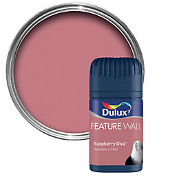 Dulux Raspberry Diva Matt Emulsion Paint 50ml Tester