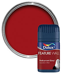 Dulux Redcurrant Glory Matt Emulsion Paint 50ml Tester