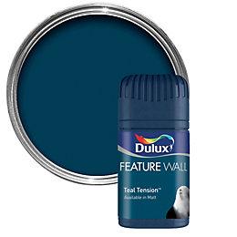 Dulux Teal Tension Matt Emulsion Paint 0.05L Tester