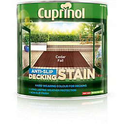Cuprinol Cedar Fall Matt Anti Slip Decking Stain
