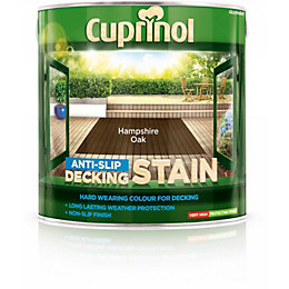 Cuprinol Hampshire Oak Matt Anti Slip Decking Stain