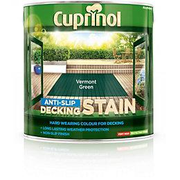 Cuprinol Vermont Green Matt Anti Slip Decking Stain
